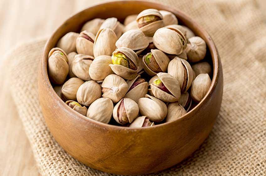 Bowl of pistachio