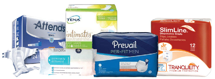 Incontinence products for adults